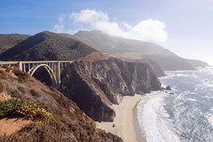 PB040485 (elsuperbob) Tags: california bigsur pacificcoasthighway pacificocean bixbybridge bridges landscape