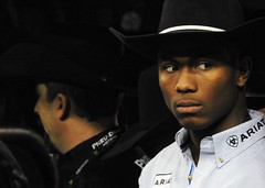 Professional Bull Riders 2019, Madison Square Garden 1-6-19 (local1256) Tags: pbr professionalbullriders cowboy cowboyhat rodeo rodeoclown bull bullrider madisonsquaregarden msg newyorkcity manhattan candid candidphotos portrait wrangler dangerous