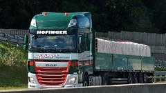 A - Hofinger DAF XF 106 SSC (BonsaiTruck) Tags: hofinger daf lkw lastwagen lastzug truck trucks lorry lorries camioncamiones caminhoes