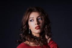Zarina (Shumilinus) Tags: 2018 85mmf18 girls nikond300s people portrait studio women beautifulpeople beautywoman blueeyes brunette curly earrings lowkey mirror model necklace nikkorlenses pretty studioportrait