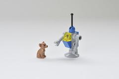 LEGO dog's bot - atana studio (Anthony SÉJOURNÉ) Tags: lego brick afol moc creator atana studio anthony séjourné