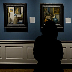 Vermeer in the National Gallery, London (alias archie) Tags: vermeer nationalgallery london england nikondf nikkor20mmf35ai manualfocuslens