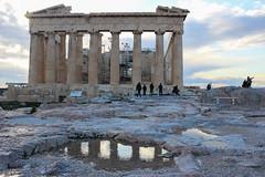 parthenon (absusa) Tags: greece acropolis parthenon partenón ancient sky colors reflection reflejo agua water