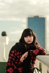 Shooting Session #1 (yassin.sg) Tags: sunset sky red flower nature blue canon night white green water portrait shooting sun clouds art tunis downtown tunisia girl long hair