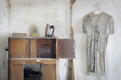 ...standard broadcast... (Art in Entropy) Tags: abandoned house radio dress decor home urban decay grime creepy light photo photography sony explore exploration adventure
