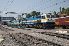 4500hp on tap (daveymills37886) Tags: indian railways wdp4d secunderabad junction 40395