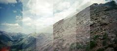 near the top of avery peak (lawatt) Tags: avery peak mountain rmbl gothic colorado film 120 portra diana f dianarama rollfilmweek