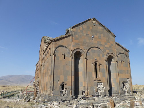 Ruined Armenian city of Ani, Kars province, Turkey