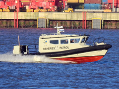 DSCN4064A (Darren B. Hillman) Tags: fisheries patrol fast craft rivermersey newbrighton river mersey nikon p900 catrin