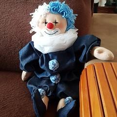 IMG_20190112_025035_678 (cleiagaspar) Tags: boneca palhacinho pano articulada artesanato brinquedo artesanais