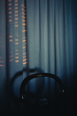 Take a seat (matteoguidetti) Tags: seat chair lights night room ble minimal colors dark
