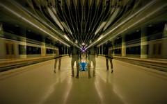 Delft perron 1 en 2 (JoséDay) Tags: trainstation platforms12 delft nsstation nederlandsespoorwegen dutchrailway thenetherlands nikoncoolpixp500 gimp2