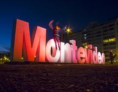 Montevideo (George Baritakis) Tags: travel travelling travelblog beach montevideo uruguay south america night nightphotography city cityscape