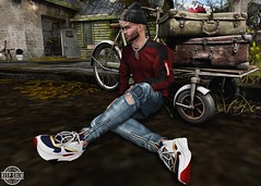 LOTD 354 (Brendo Schneuta) Tags: fli sneakers arcback jeans galvanized sweater doux beanie equal10 tmd event events facial beard signature catwa bento fatpack chain borneo decoration nutmeg new releases poses pose virtual game avatar men male estilo fashion style moda keepcalm brendo cap bloggersl blogger blog secondlifeblog secondlife second sl