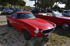 VOLVO P1800 - 1961 (SASSAchris) Tags: volvo p1800 voiture suédoise 10000 tours dhorloge castellet circuit ricard