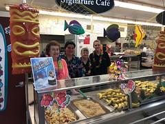 (cafe_services_inc) Tags: cafeservicesinc freshpicks pittsfield promo promotions winterluau luau pineapple freshfruit decorations culinaryteam