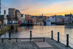 Pastel colours at the Shore (MilesGrayPhotography (AnimalsBeforeHumans)) Tags: pastelcolours pastel architecture nd formatthitech 2470 sonyfe2470f4zaoss a7rii sonya7rii britain cityscape dusk edinburgh europe evening glow goldenhour historic harbour iconic ilce7rm2 landscape lens landscapephotography leith outdoors photography photo reflections river scotland scenic sky skyline sunset sony scottish scottishlandscapephotography shore sonyflickraward sonyilce7rm2 town twilight uk unitedkingdom waterscape winter zeiss