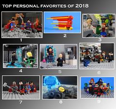Personal Favorites of 2018 (-Metarix-) Tags: lego super hero minifig dc comics new year 2018 personal favorites cusoms set building imporvments 2019