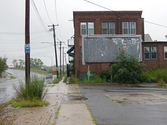 In the early to mid 1970s, I used pass by here on my bike route from Milford to downtown New Haven. I never realized that the future would bring abandonment and entropy to this once busy industrial site. West Haven Connecticut. July 2018 (wavz13) Tags: dreary rainy oldbuildings vintagebuildings 19thcenturybuildings forgottenplaces overgrown abandoned weedy urbanphotography urbanphotos connecticutphotographs connecticutphotos connecticutphotography connecticutshoreline vintageindustry oldindustry vintageindustrial oldindustrial vintagefactory oldfactory vintagefactories oldfactories urbandecay urbanwasteland urbanblight abanondedfactory abandonedfactories abandonedindustry abandonedindustries urban urbanexploration industrialwasteland wasteland industry industrial bleak bleakwasteland abandonedplaces oldconnecticut vintageconnecticut streetscapes streetscape ghettopalms fallow