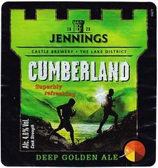 England - Marstons PLC (Cumbria) (cigpack.at) Tags: england jennings cumberland deepgoldenale marstons plc cumbria bier beer brauerei brewery label etikett bierflasche bieretikett flaschenetikett