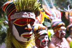 Hagen face painting (Jojje Olsson) Tags: png papuanewguinea asia pacific tribes tribal nature highlands mountains culture