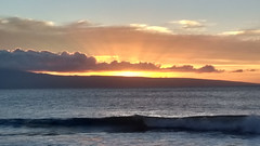 Maui sunset (LarrynJill) Tags: sunset sun sea maui evening nature shore ocean travel hawaii