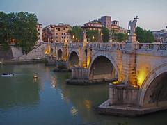 Engelsbrücke (ROM) (PTR Images) Tags: rom rome engelsburg engelsbrücke tiber