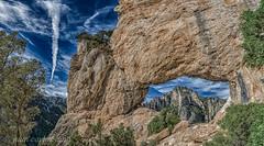 FORAT DE LA VELLA (juan carlos luna monfort) Tags: masdebarberans paisaje roca piedra cieloazul nubes hdr montaña naturaleza montsia tarragona panoramica arbol nikond7200 irix15 calma paz tranquilidad