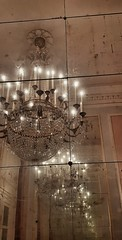 Teatro La Fenice -Venezia - Entrata (Wendy_IT) Tags: venezia venice fenice teatro lights light luce luci specchio