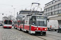 BRN_1712_201811 (Tram Photos) Tags: ckd tatra kt8d5rn2 brno brünn strasenbahn tram tramway tramvaj tramwaj mhd šalina dopravnípodnikměstabrna dpmb