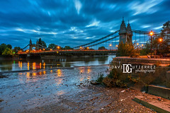 Hammersmith Bridge, London, UK (davidgutierrez.co.uk) Tags: london photography davidgutierrezphotography city art architecture nikond810 nikon urban travel color night blue photographer tokyo paris bilbao hongkong bridge uk londonphotographer twilight bluehour colors colour colours colourful vibrant england unitedkingdom 伦敦 londyn ロンドン 런던 лондон londres londra europe beautiful cityscape davidgutierrez capital structure britain greatbritain ultrawideangle afsnikkor1424mmf28ged 1424mm d810 arts landmark attraction historic reflection iconic icon touristattraction riverthames hammersmithbridge 倫敦