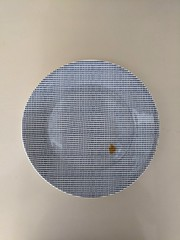 Spot (everdred) Tags: dots food stain plate imperfection matrix spot
