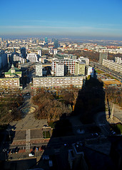 Torre de Stalin (Tete07) Tags: sombra sombras torre rascacielos monumento polonia varsovia warsaw warszawa