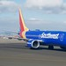 Southwest Airlines Boeing 737 MAX -8, N8710M, taxiing, dual scimitar winglets, OAK DSC_0627