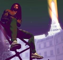 .:Caribbeans in Paris:. (Romeo Los Santos) Tags: paris slphotography secondlife slartwork secondlifeart sl second life lossantosphotograghy lights los santos artwork avatars street streets beautiful mesh mens versov chinov