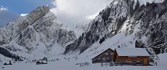 The alp in winter (Alpine Light & Structure) Tags: alps alpen alpes winter switzerland schweiz suisse snow cheese seealpsee stgallen alpstein
