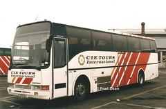 Bus Eireann VC64 (97D2254). (Fred Dean Jnr) Tags: buseireann vc64 97d2254 broadstonegaragedublin february1998 volvo b10m buseireannbroadstonedepot broadstonedepotdublin bus cietoursinternational caetano algarveii broadstone