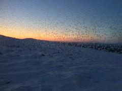 View from free and heated Fell Guardian's scenic hut. (Visit Arctic North) Tags: pyhätunturi pyhäskiresort hut tupa maisematupa scenichut pyhäluosto fell tunturi sunset auringonlasku sky taivas