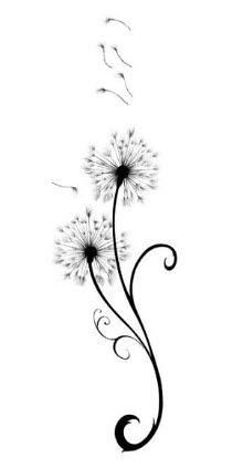 Dandelions Tattoo