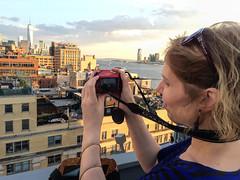 Lise at the Whitney, New York City (dckellyphoto) Tags: newyorkcity newyork 2015 usa nyc lise manhattan freedomtower eoshe whitneymuseum woman