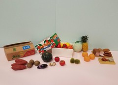 Excellent used Re-ment lot for less than $20 including shipping!!! #rement #miniaturefood #miniatureproduce (wpnschick) Tags: miniatureproduce rement miniaturefood miniaturevegetables miniaturefruit miniaturedelimeats miniaturegroceries miniaturesupermarket onesixthscale 16 miniaturemushrooms miniaturepineapple miniatureoranges miniaturesquash miniaturepotatoes miniaturepeppers miniaturesweetpotatoes miniaturetomatoes miniaturemelon miniaturesausage
