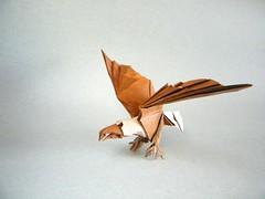 Águila Calva (Bald Eagle) - Fernando Gilgado (Rui.Roda) Tags: origami papiroflexia papierfalten aigle águia águila calva bald eagle fernando gilgado