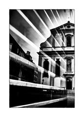 rayons cléricaux (Armin Fuchs) Tags: arminfuchs würzburg augustinerkirche reflection rayures strahlen rays light lines church