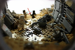 From inside the engine. (First Order Lego) Tags: lego starwars battlefront2 jakku epic cool