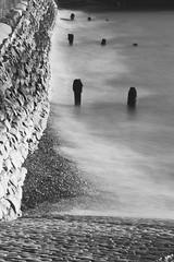 Against the Forces of Nature (Michael J Lawlor) Tags: portsmouth portsmouthharbour solent monochrome bw blackwhite blackandwhite longexposure blur zuikoom200mmf4