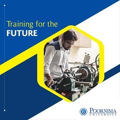 Training for the Future- Poornima University (Poornima University) Tags: poornimauniversity education engineering mba bba bca topprivateuniversityinrajasthan