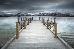 Jetty (Sizun Eye) Tags: winter lofoten norway jetty fjord mountains snow perspective landscape paysage sizuneye nikond750 tamron2470mmf28