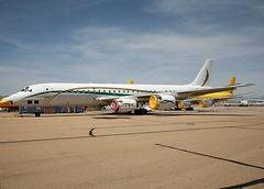 Skybus Jet Cargo                             Douglas  DC-8                                 N872SJ (Flame1958) Tags: 6947 n872sj skybusjetcargo n8966u vrbjr hbigh n274at vpbhs douglasdc8 douglas dc8 airfreight aircargo igm kigm kingmanairfield kingmanairport 100418 0418 2018