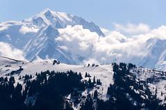 Mont Blanc (Yann OG) Tags: france french français savoie haute landscape paysage montagne mountain neige snow sapin nuage cloud montblanc massifdumontblanc col sommet piste ski alpes alps aravis laclusaz