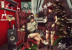 Just a Little Cozy Christmas ♥♥♥ (Rhenu Resident) Tags: equal10 harajuku imaginarium thearcadegachaevent epic khd nanika bonbon exxess go jian lelutka luas nach rassuel una boomerang glitzz nc {yd} ~larniahd ~thegreendoor~